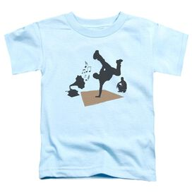 Kickin It Olde School Short Sleeve Toddler Tee Light Blue Sm T-Shirt
