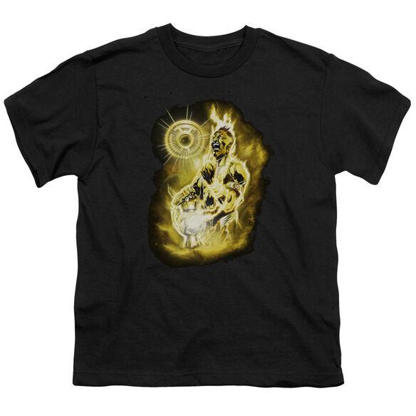 GREEN LANTERN SINESTRO NEBULA - S/S YOUTH 18/1 - BLACK T-Shirt