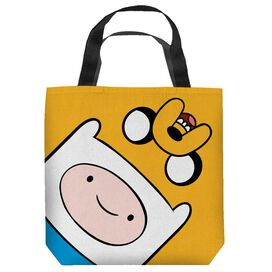 Adventure Time Finn And Jake Heads Tote