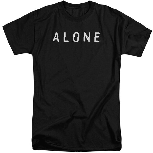 Alone Alone Logo Short Sleeve Adult Tall T-Shirt