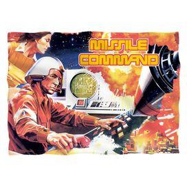 Atari Missile Command Pillow Case