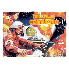 Atari Missile Command (Front Back Print) Pillow Case