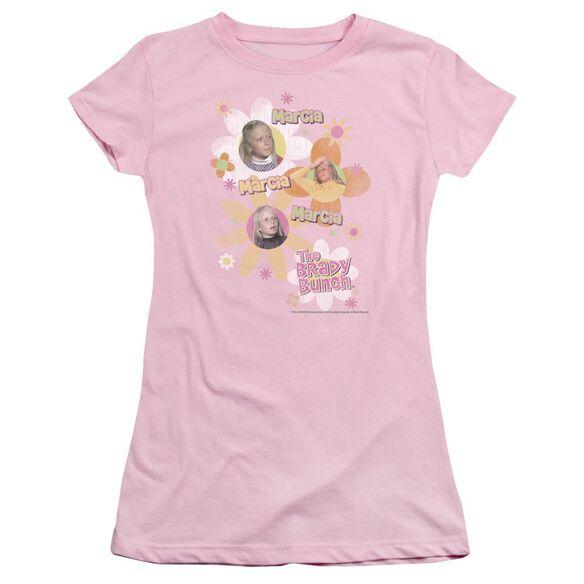 Brady Bunch Marcia Marcia Marcia Short Sleeve Junior Sheer T-Shirt