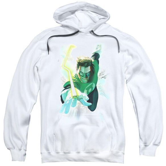 Green Lantern Clouds Adult Pull Over Hoodie