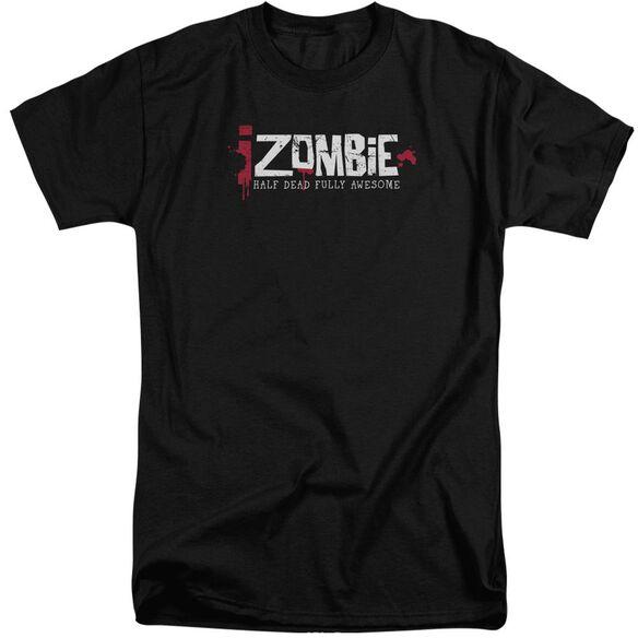 Izombie Logo Short Sleeve Adult Tall T-Shirt