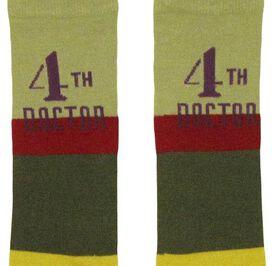 Doctor Who 4th Doctor Mens Knee High Socks