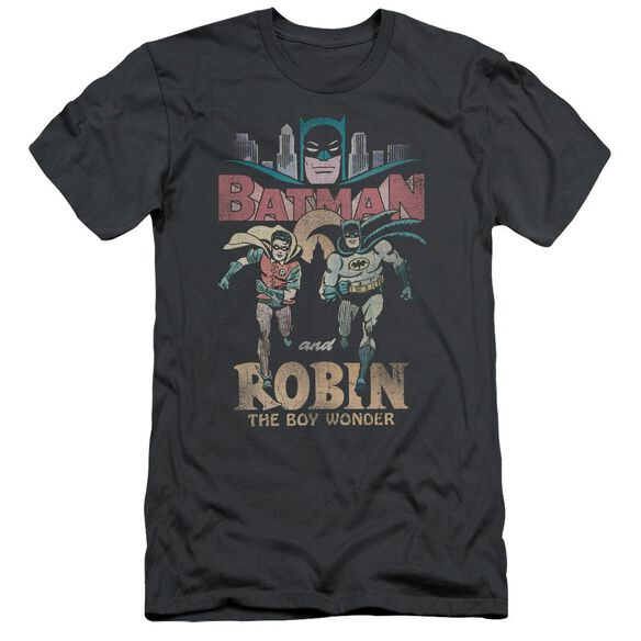 Batman Classic Tv Classic Duo Short Sleeve Adult T-Shirt