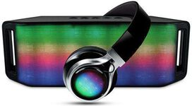 HyperGear Rave Bluetooth Speaker & Headphones