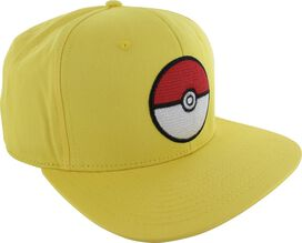 Pokemon Poke Ball Yellow Snapback Hat