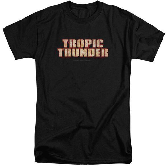 Tropic Thunder Title Short Sleeve Adult Tall T-Shirt