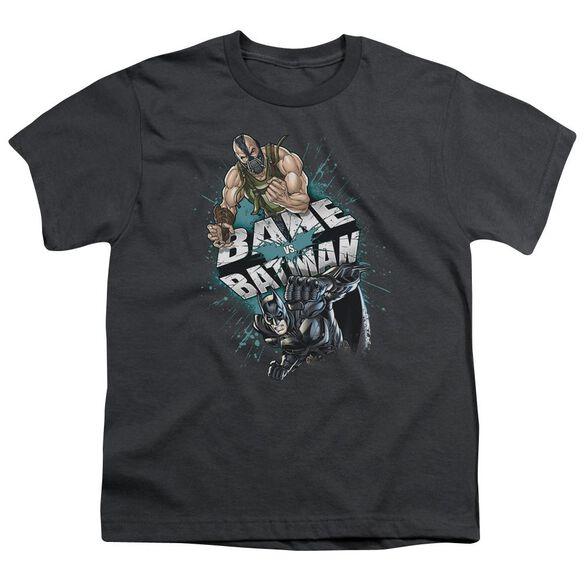 Dark Knight Rises Bane Vs Batman Short Sleeve Youth T-Shirt