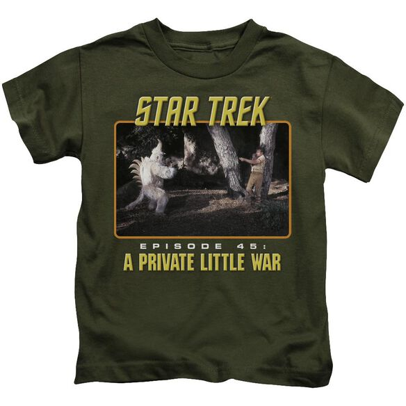 St Original Episode 45 Short Sleeve Juvenile Military T-Shirt