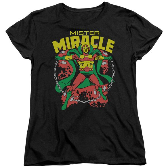 Dc Mr Miracle Short Sleeve Womens Tee T-Shirt