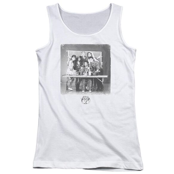 Saved By The Bell Class Photo Juniors Tank Top