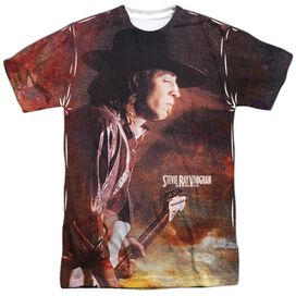 Stevie Ray Vaughan Weather Short Sleeve Adult Poly Crew T-Shirt
