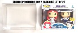 Chalice Collectible Protector Box - fits Funko POP! 2-pack [10 count]
