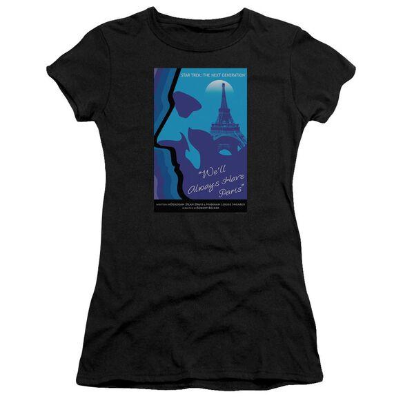 Star Trek Tng Season 1 Episode 24 Short Sleeve Junior Sheer T-Shirt