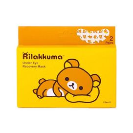 Rilakkuma Under-Eye Recovery Mask w/ Rose Extract (2 pair)
