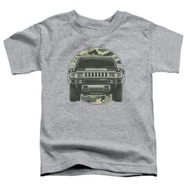 Hummer Lead Or Follow Short Sleeve Toddler Tee Athletic Heather T-Shirt