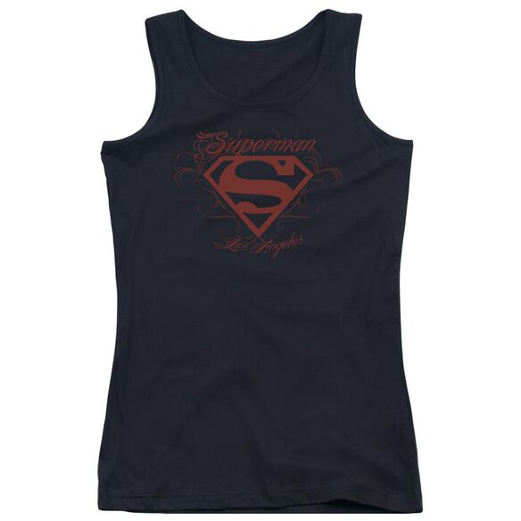 Superman La Juniors Tank Top