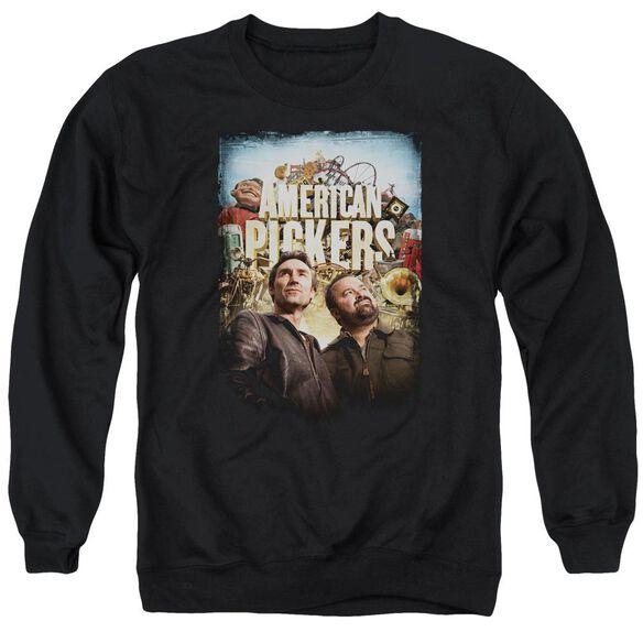 American Pickers Picker Poster Adult Crewneck Sweatshirt