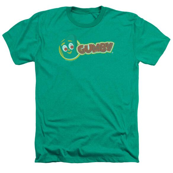 Gumby Logo - Adult Heather - Kelly Green