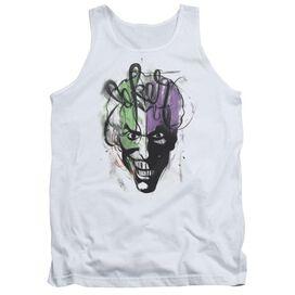 Batman Joker Airbrush - Adult Tank
