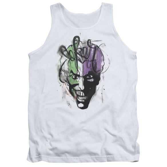 Batman Joker Airbrush Adult Tank