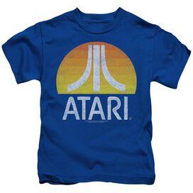 Atari Sunrise Eroded Short Sleeve Juvenile Royal T-Shirt