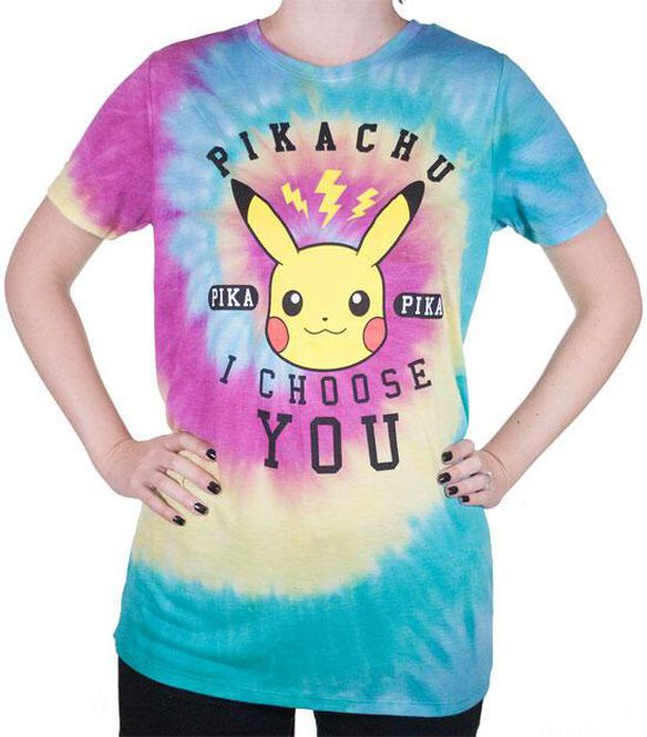 2501773c8 Pokemon Pikachu Tie Dye Junior T-Shirt | FYE