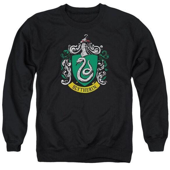 Harry Potter Slytherin Crest Adult Crewneck Sweatshirt