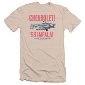 Chevrolet 59 Impala Short Sleeve Adult T-Shirt