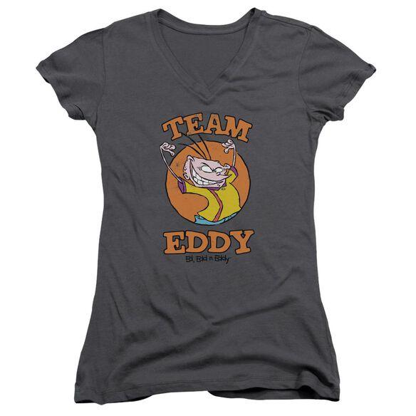 Ed Edd N Eddy Team Eddy Junior V Neck T-Shirt