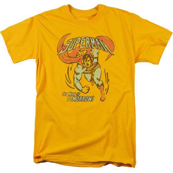 Dc Tomorrow Man Short Sleeve Adult T-Shirt
