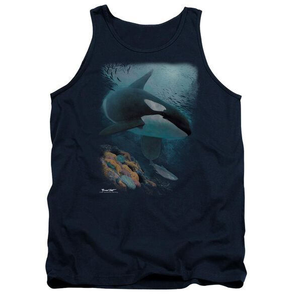 Wildlife Salmon Hunter Orca Adult Tank