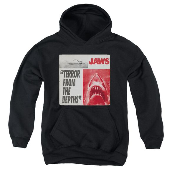 Jaws Terror Youth Pull Over Hoodie