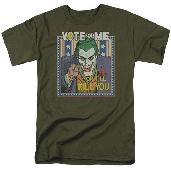 BATMAN DARK DETECTIVE #1 - S/S ADULT 18/1 - MILITARY GREEN T-Shirt