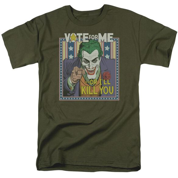 BATMAN DARK DETECTIVE #1 - S/S ADULT 18/1 - MILITARY GREEN T-Shirt