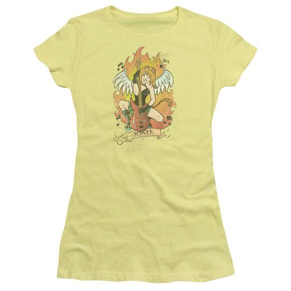 Archie Comics Josie Tattoo Short Sleeve Junior Sheer T-Shirt