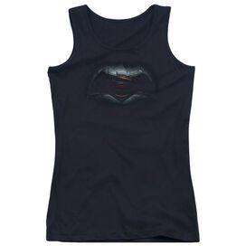 Batman V Superman Logo Juniors Tank Top
