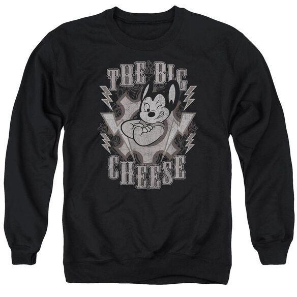 Mighty Mouse The Big Cheese Adult Crewneck Sweatshirt