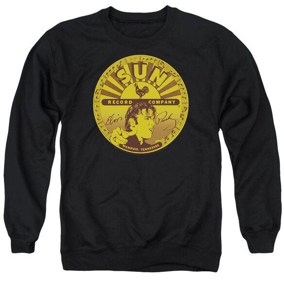 Sun Elvis Full Sun Label Adult Crewneck Sweatshirt