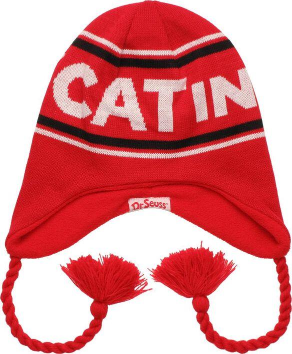 Dr Seuss Cat Hat Reversible Lapland Beanie