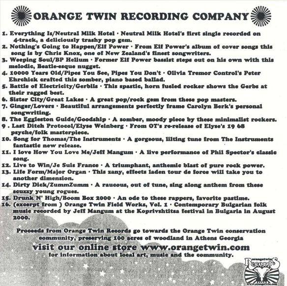 Orange Twin Sampler