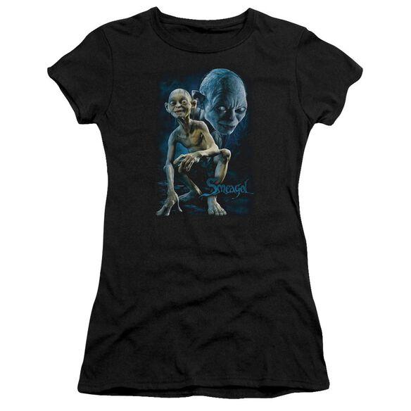 Lor Smeagol Short Sleeve Junior Sheer T-Shirt
