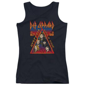 Def Leppard Hysteria Tour Juniors Tank Top
