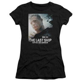 Last Ship Captain Short Sleeve Junior Sheer T-Shirt