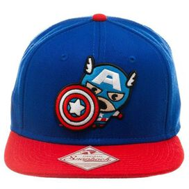 Captain America Toy Blue Hat