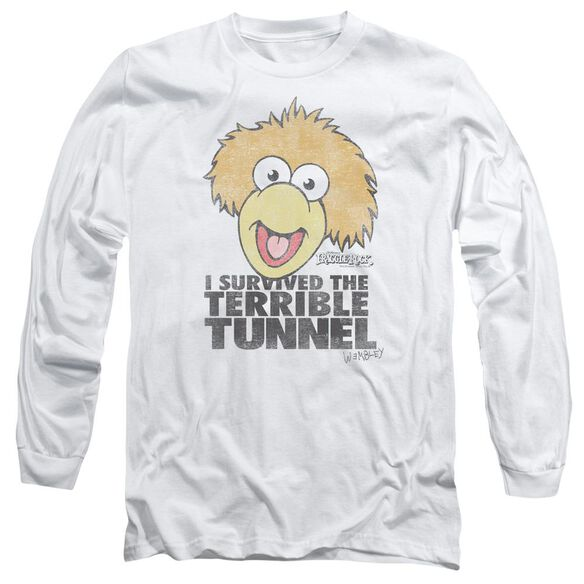 Fraggle Rock Terrible Tunnel Long Sleeve Adult T-Shirt