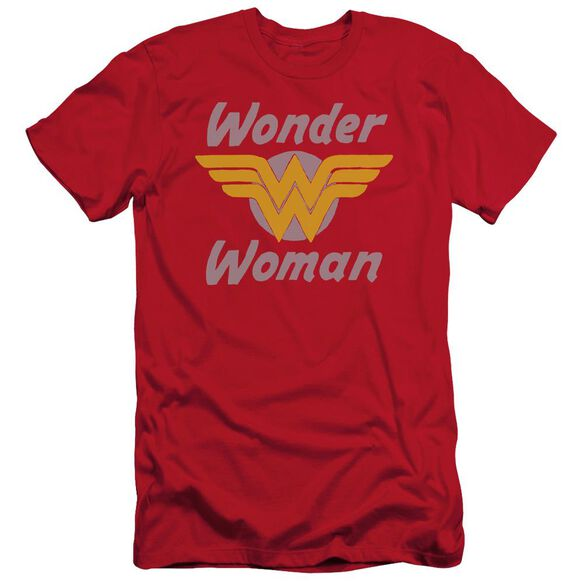 Dc Wonder Wings Short Sleeve Adult T-Shirt